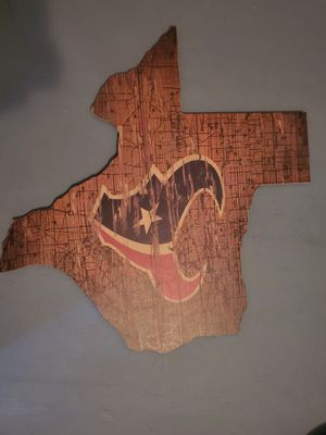Texans Wall Art for Sale in Conroe, TX