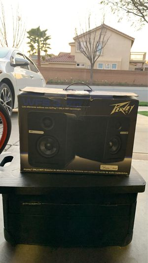 Peavey WFS 3.7 AirPlay Studio Speaker Monitor for Sale in Beaumont, CA