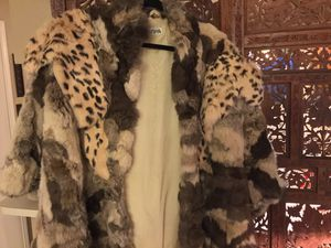 Mixed Pelt Fur Jacket for Sale, used for sale  San Antonio, TX