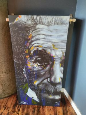 The Legend Of Einstein MC^2 Painting for Sale in St. Louis, MO