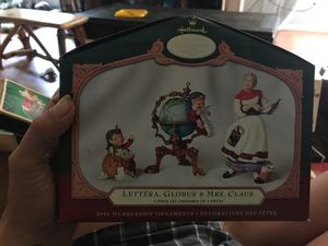2001 Keepsake ornament collectors club for Sale in New Canton, VA