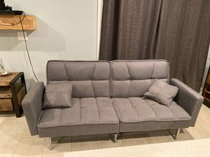 Gray Futon for Sale in Glendale, AZ