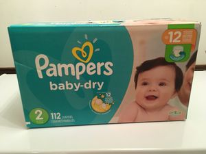 Pampers size 2 for Sale in Burke, VA