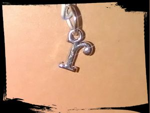 Silver Plated Little Letter 'r' Charm for Sale in San Antonio, TX
