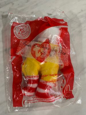TY Beanie Baby 25 years of happiness Ronald McDonald Bear for Sale in Seffner, FL