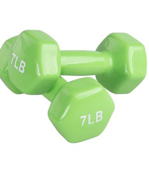 7 pound weight set 2x 7 LB dumbbells pair of weights 2 dumbells for Sale in Scottsdale, AZ