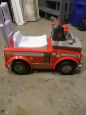 Paw Patrol Marshall Fire Truck for Sale in Wake Forest, NC