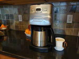 Cuisinart coffee maker dgb 650 10 cup for Sale in Denver, CO