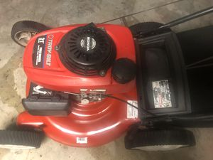 Honda power Troy built lawn mower / lawnmower in excellent working condition easy to push mower high back wheels for Sale in Hialeah, FL