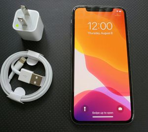iPhone X, !Factory Unlocked & iCloud Unlocked.. Excellent Condition, Like a New... for Sale in Springfield, VA