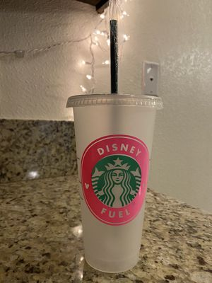 Disney Fuel reusable Starbucks cup for Sale in Fresno, CA