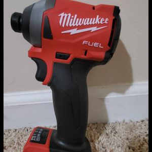 Brand new never used Milwaukee M18 FUEL 18-Volt Lithium-Ion Brushless Cordless 1/4 in. Hex Impact Driver (Tool-Only) $$ 90 firm for Sale in Bakersfield, CA