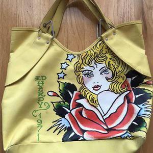 ED HARDY TOTE BAG - $25 for Sale in Queens, NY