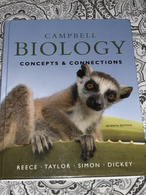 Biology 107. Campbell Biology concepts and connections. 7th edition. for Sale in San Diego, CA