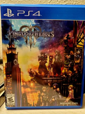 PS4 Kingdom Hearts III Game for Sale in Frisco, TX