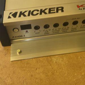 Kicker Kx400.1 for Sale in Denver, CO