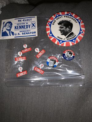 JFK Kennedy pin bundle for Sale in Stoughton, MA