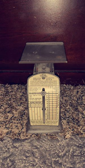 Vintage IDL MFG Deluxe Postal Thrifty Scale for Sale in Goldsboro, PA