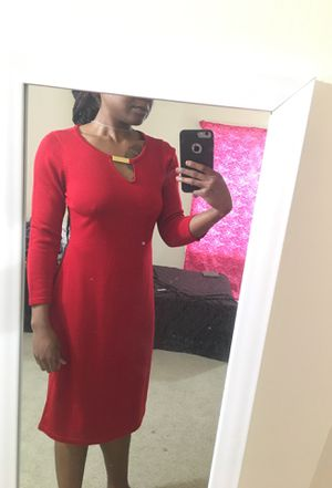 Red Calivin Klein Formal Dress/ Medium for Sale in Silver Spring, MD