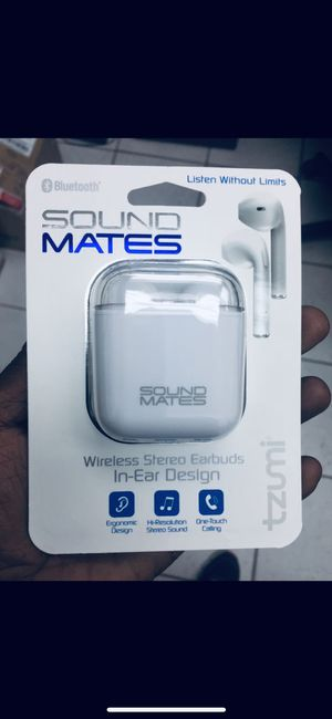 Sound mates (wireless Bluetooth) (Great Qualityheadphones29$OrBestOffer for Sale in Miami, FL