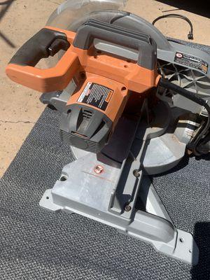 Ridgid miter saw $40 for Sale in San Diego, CA