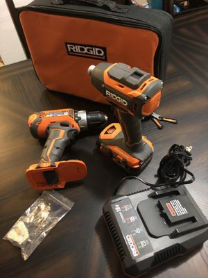 Ridgid set drill - impact Brand New never used for Sale in Kansas City, KS