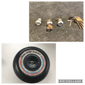 Mazda Rotary parts: racing beat airfilter & RX2 keys and locks & brake cylinder for Sale in Puyallup, WA