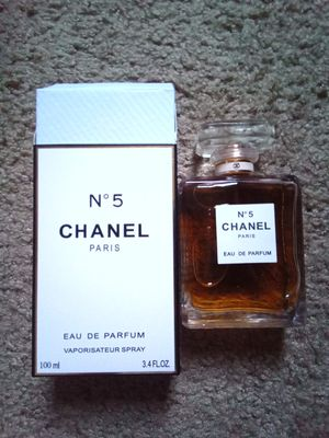 Chanel no.5 Perfume for women Open Box Almost Full for Sale in Oswego, IL