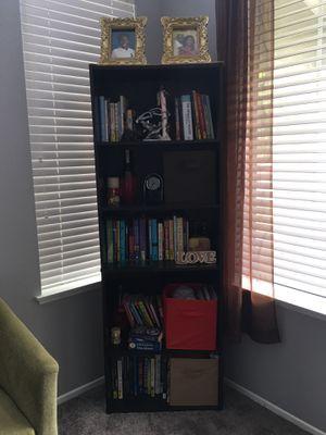 Dark Brown bookshelf for sale for Sale in Ontario, CA
