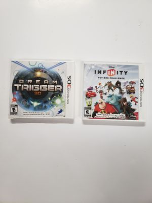 Nintendo 3ds dream trigger and Disney infinity for Sale in Parma, OH