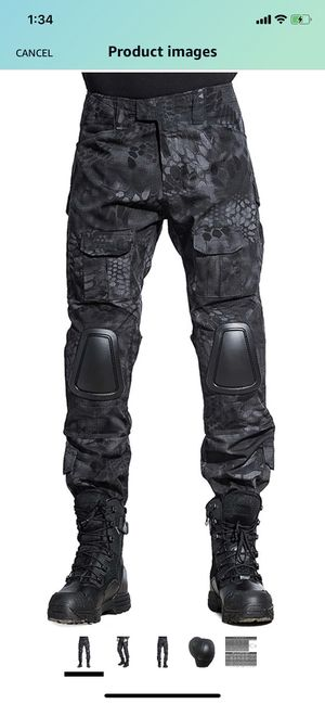 Sinairsoft Tactical Pants with kneepads - Typhon Camo for Sale in Miami, FL