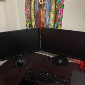 2 144hertz Asus Monitors For Sale! for Sale in West Valley City, UT