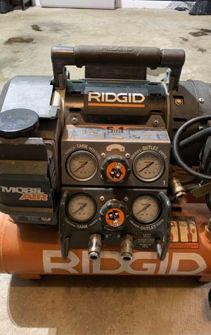 Rigid 5 gal. 5-1 Air Compressor for Sale in Kent, WA