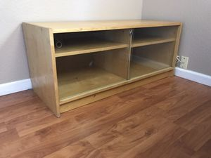 TV stander with sliding glass doors for Sale in Lemon Grove, CA