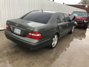 2005 lexus LS430 for parts PARTS ONLY for Sale in Dallas, TX