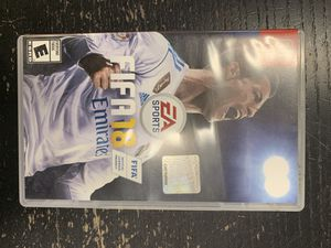 Nintendo switch FIFA 18 game for Sale in Federal Way, WA