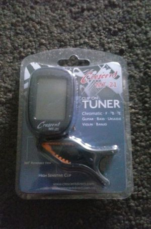 Clip On Tuner for Sale in Fresno, CA