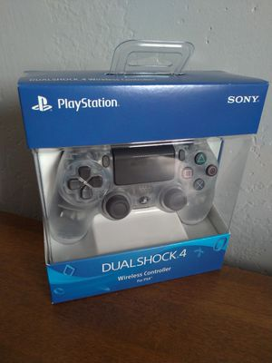 Sony Playstation 4 Dualshock Wireless Controller - Crystal Color - Brand New Sealed in Box for Sale in Chula Vista, CA