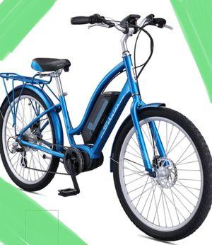 """New!! Bike, electric bike, 7 speeds 26"""" wheels unisex electric bike, female bike, male bike, bicycle, blue for Sale in Phoenix, AZ"""