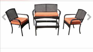 Out door patio furniture 4 piece set brand new for Sale in Staten Island, NY