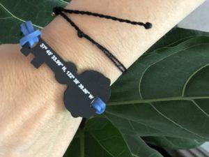 ocean beach San Diego coordinates bracelet for Sale in San Diego, CA