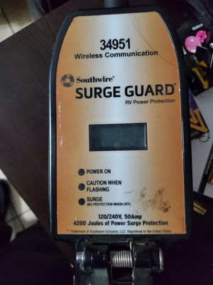 Surguard 50 amp Surge protector for RV... for Sale in Clovis, CA