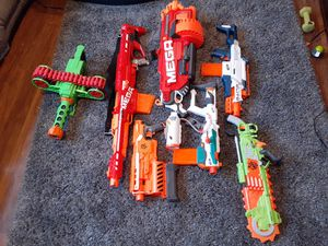 NERF Toy guns, accessories/attachments and darts lot for Sale in Marysville, WA