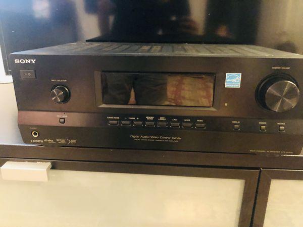 Amplificador Sony y sudwoofer bocinas