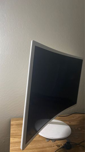 Samsung curved monitor for Sale in Sacramento, CA