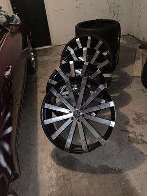 28 inch velocity rims for Sale in Spring, TX