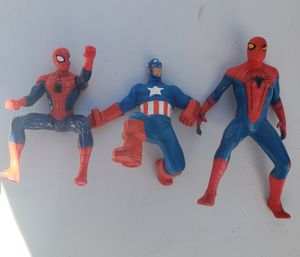 Marvel Legends 2 Spider-Man and Captain America for Sale in Las Vegas, NV