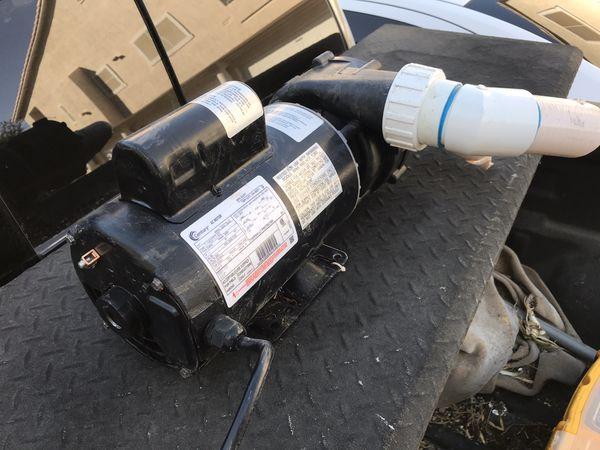 (2) Hottub motors - practically new