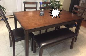 In Stock Coviar Brown 6-Piece Dining Set for Sale in Laurel, MD