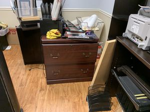 Wood Filing Cabinet for Sale in Lake Worth, FL